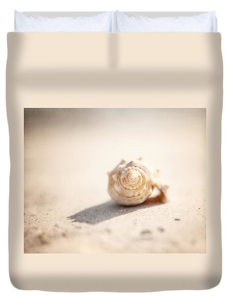 She Sells Sea Shells Duvet Cover by Lisa Russo
