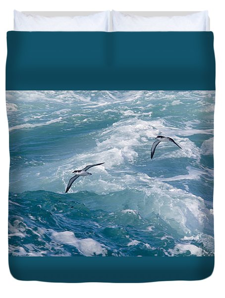 Shearwaters Duvet Cover