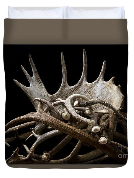 Sheds Duvet Cover by Edward R Wisell