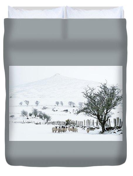 Sheep Shelter  Duvet Cover