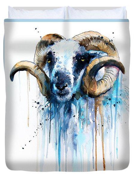 Sheep Duvet Cover by Slavi Aladjova