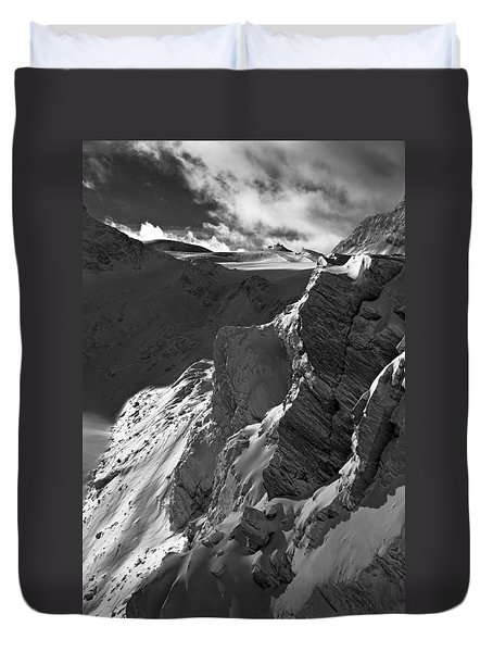 Sheer Alps Duvet Cover