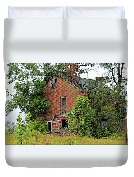 Sheffield House Panorama Duvet Cover by Bonfire Photography