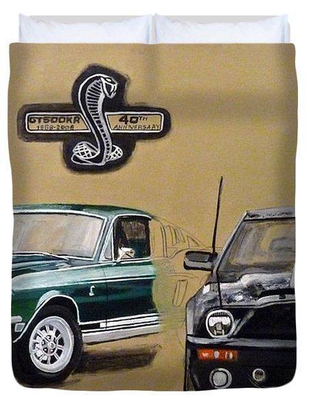 Shelby 40th Anniversary Duvet Cover