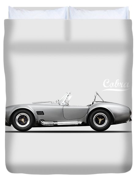 Shelby Cobra 427 Sc 1965 Duvet Cover
