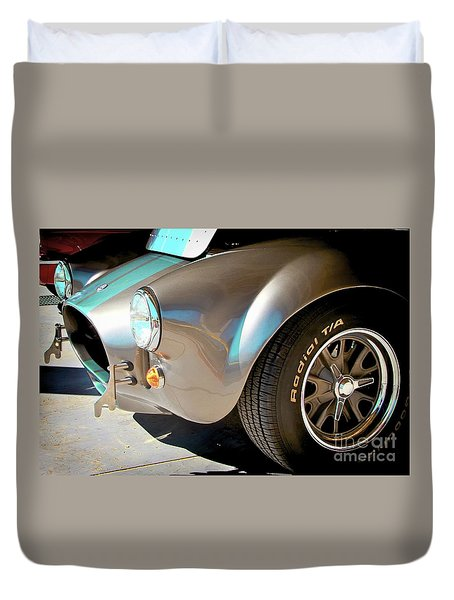 Shelby Cobra Abstract Duvet Cover