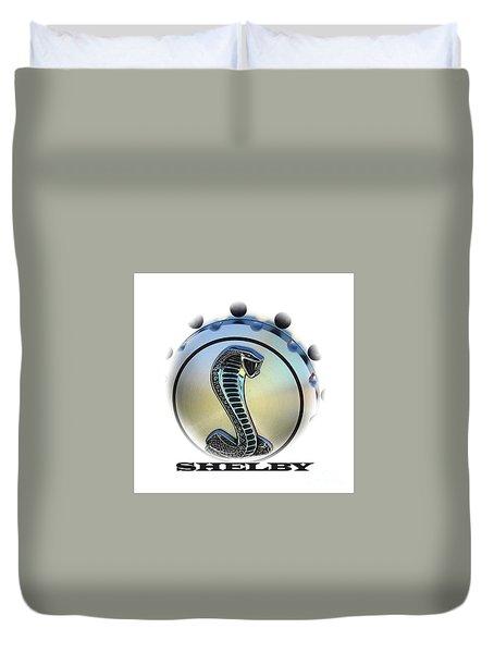 Shelby Cobra Art Duvet Cover