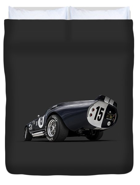 Shelby Daytona Duvet Cover by Douglas Pittman