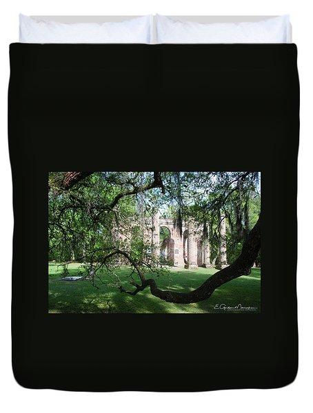 Sheldon Church 2 Duvet Cover by Gordon Mooneyhan
