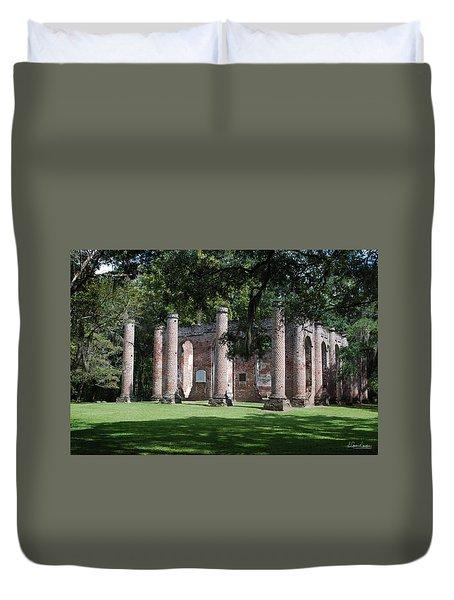 Sheldon Church 1 Duvet Cover by Gordon Mooneyhan