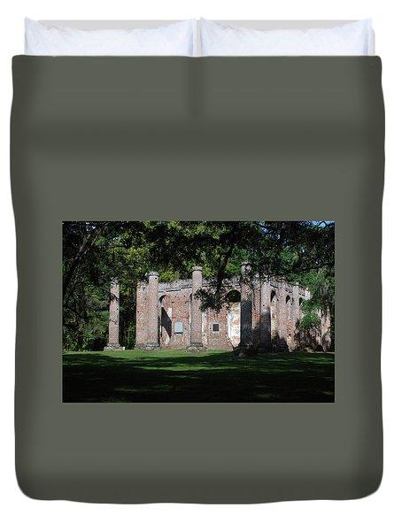Sheldon Church 7 Duvet Cover by Gordon Mooneyhan