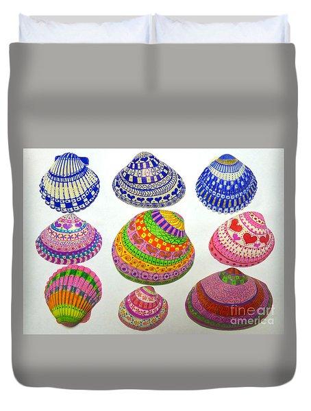 Shell Art Duvet Cover