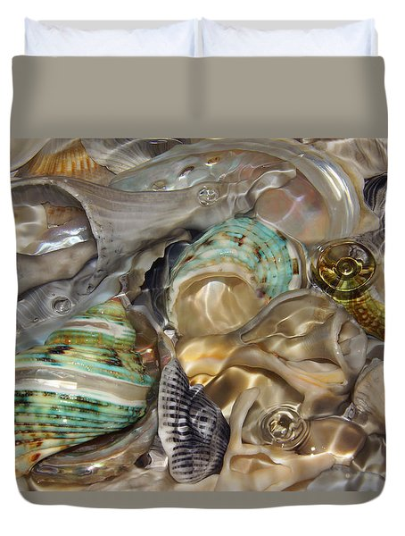 Shell Fluidity Duvet Cover