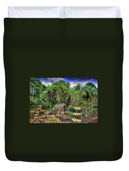 Shell Garden Duvet Cover by Joseph Hollingsworth