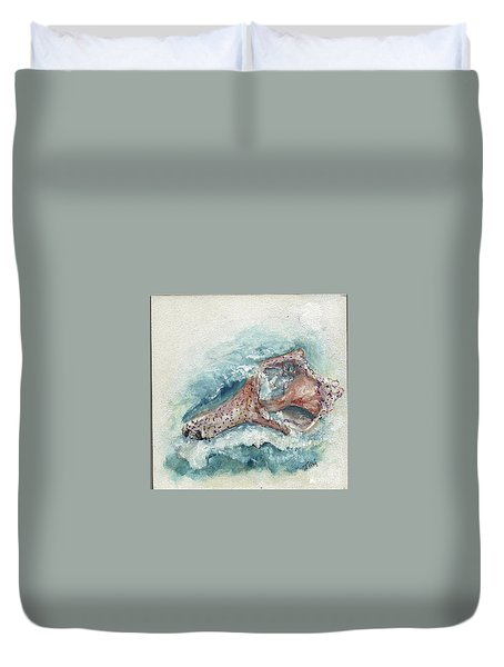 Shell Gift From The Sea Duvet Cover