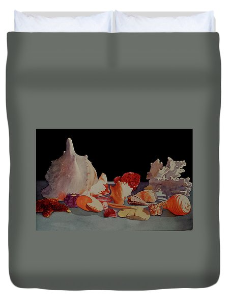 Shell Shock Duvet Cover