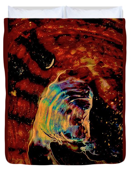 Shell Space Duvet Cover