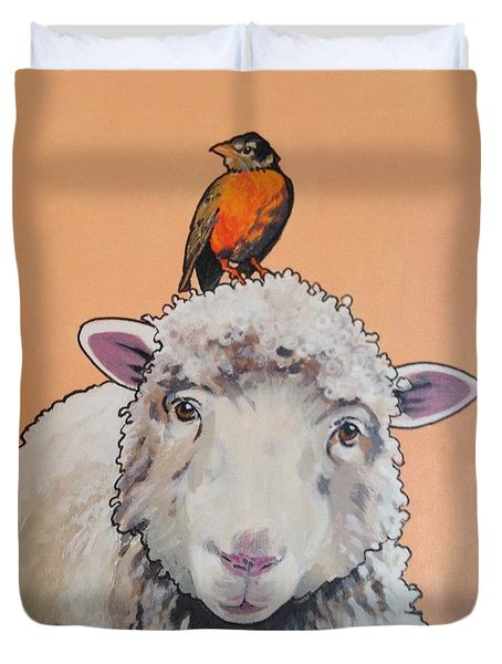 Shelley The Sheep Duvet Cover