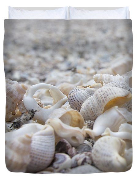 Duvet Cover featuring the photograph Shells 3 by Jocelyn Friis