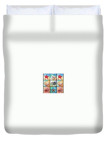Shells X 9 Duvet Cover