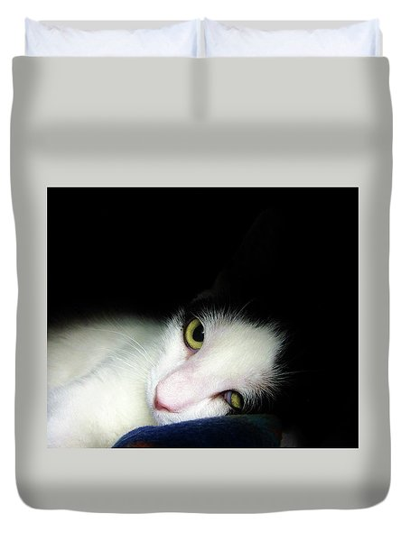 Shelter Cat Duvet Cover