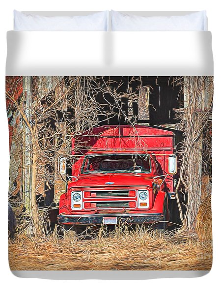 Shelter From The Weather Duvet Cover