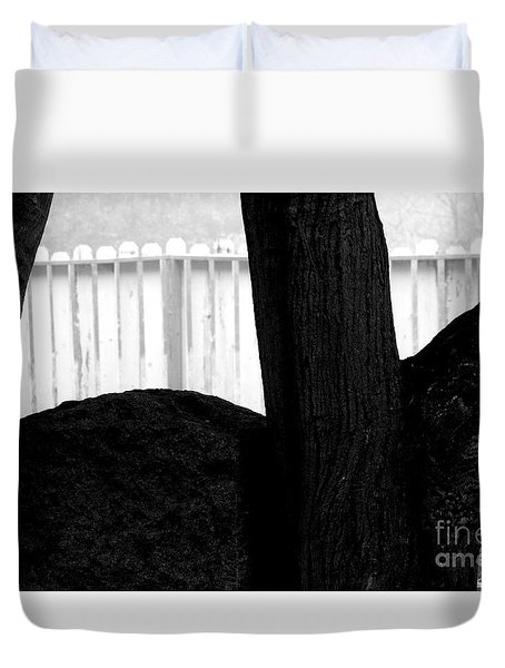 Duvet Cover featuring the photograph Sheltered by Steven Macanka