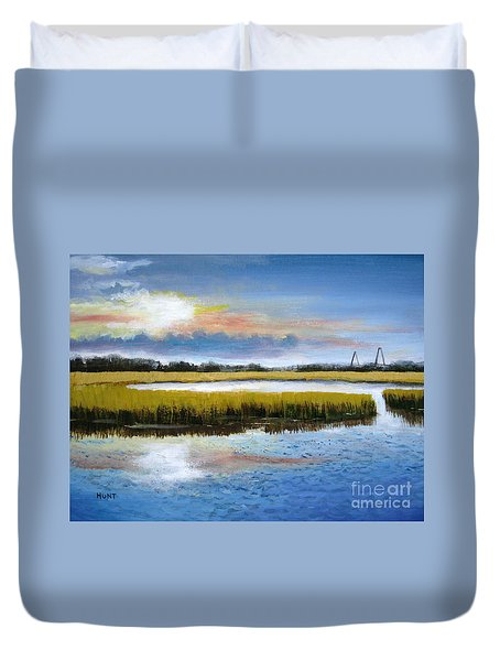 Shem Creek Sky Duvet Cover