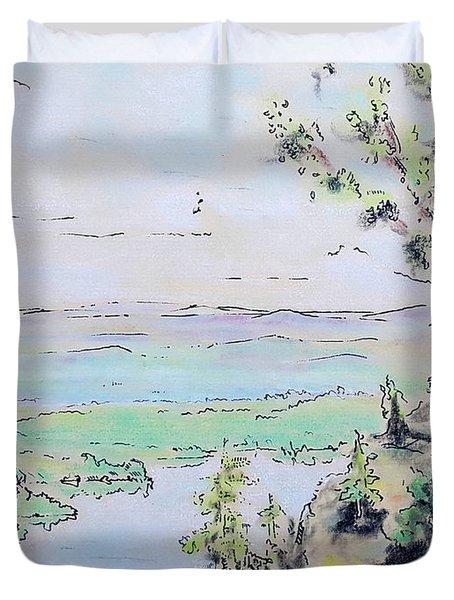 Shenandoah Duvet Cover