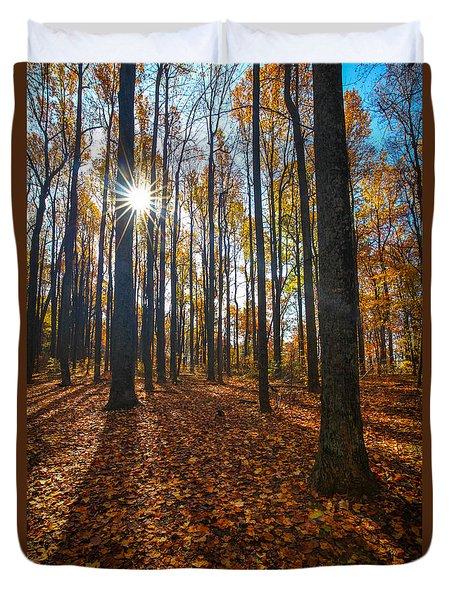 Shenandoah Forest Duvet Cover