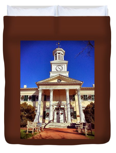 Shepherd University Duvet Cover