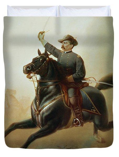Sheridan's Ride Duvet Cover by Thomas Buchanan Read