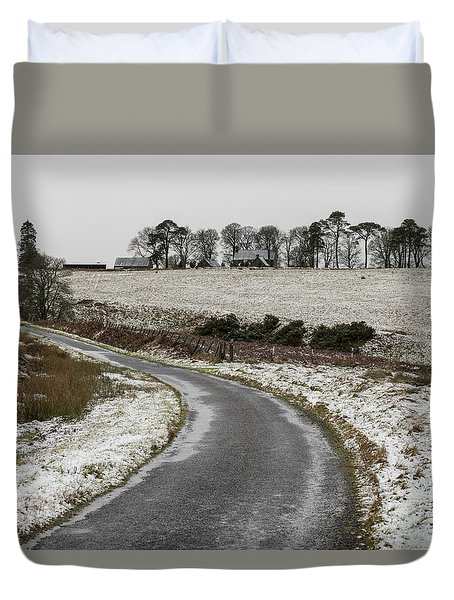 Sheriffmuir Road Duvet Cover