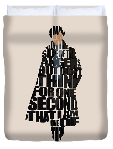 Sherlock - Benedict Cumberbatch Duvet Cover