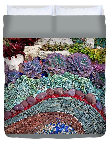 Sherman Gardens Study 45 Duvet Cover