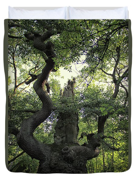 Sherwood Forest Duvet Cover by Martin Newman