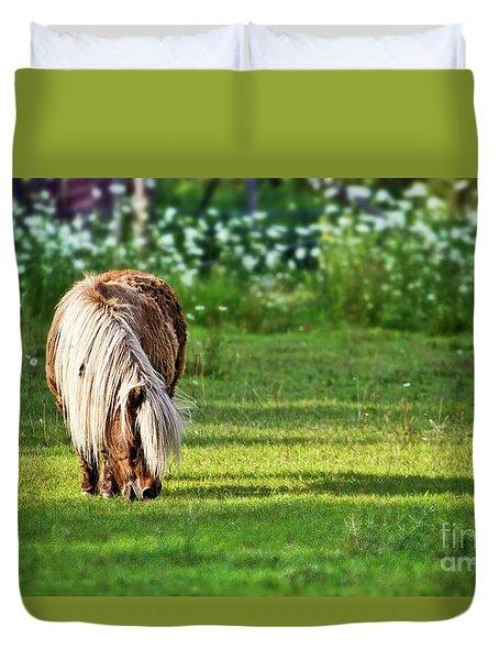 Shetland Pony Duvet Cover