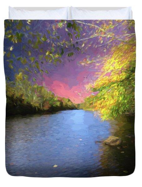 Shetucket River Ct. Duvet Cover