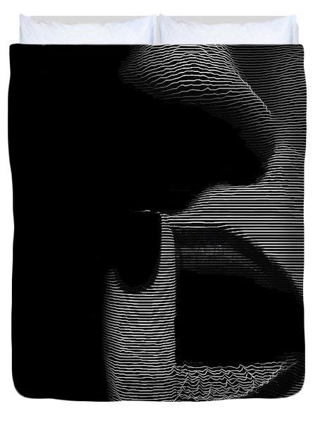 Shhh Duvet Cover