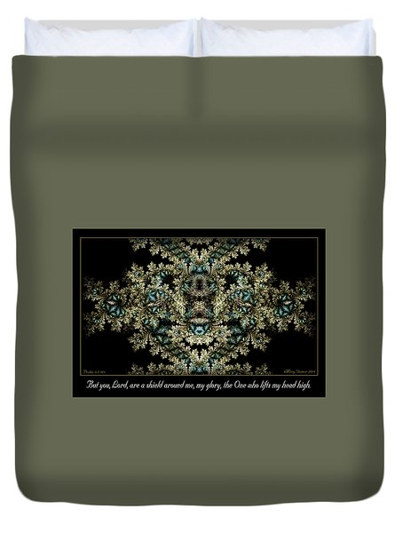Shield Around Me Duvet Cover