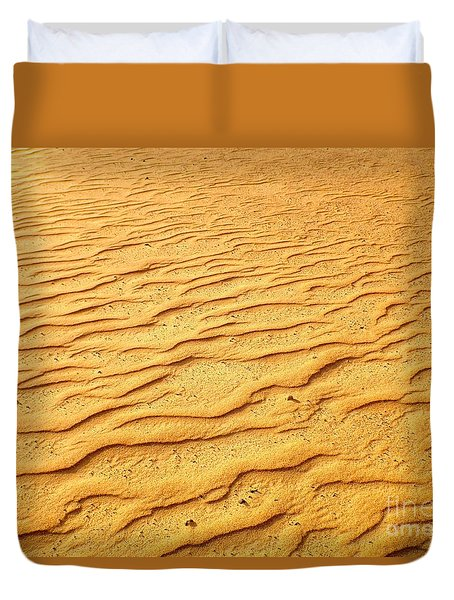 Shifting Sands Duvet Cover