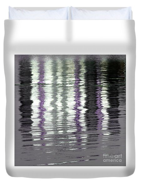 Duvet Cover featuring the photograph Shimmer by Wendy Wilton