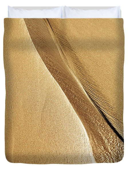 Shimmering Sand Duvet Cover by Brandon Tabiolo - Printscapes