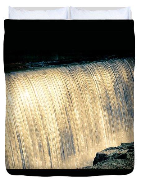 Shimmering Waterfall Duvet Cover