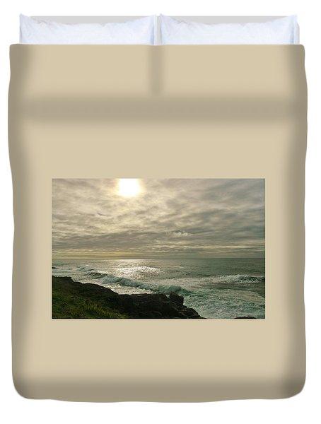 Shimmery  Light Duvet Cover