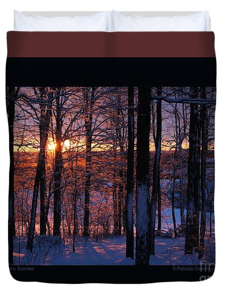 Shimmery Sunrise Duvet Cover