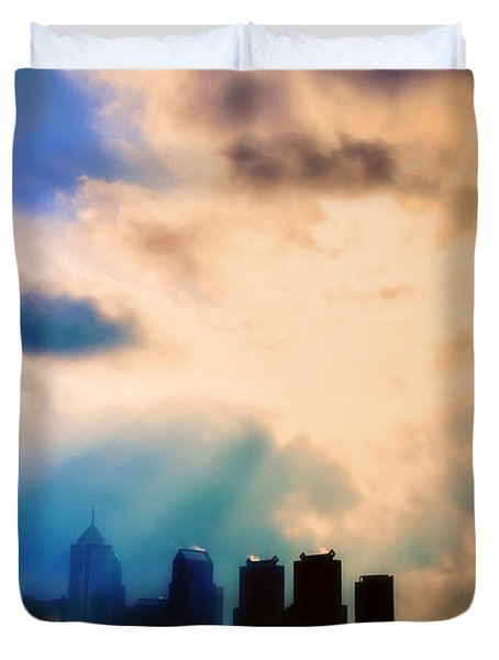 Shine A Light Duvet Cover by Bill Cannon