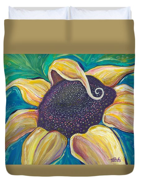 Shine Bright Duvet Cover by Tanielle Childers