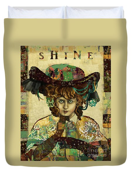 Shine - Norma Whalley Duvet Cover
