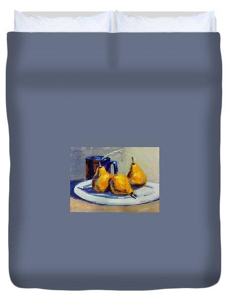 Shiney Blue Mug Duvet Cover